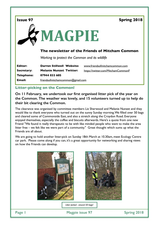 Magpie 97 cover